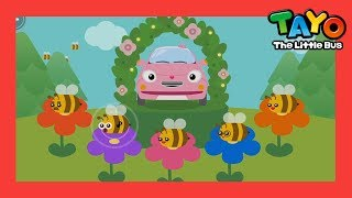 Tayo Song Wheels on the bus l Nursery Rhyme Game Song l Tayo the Little Bus