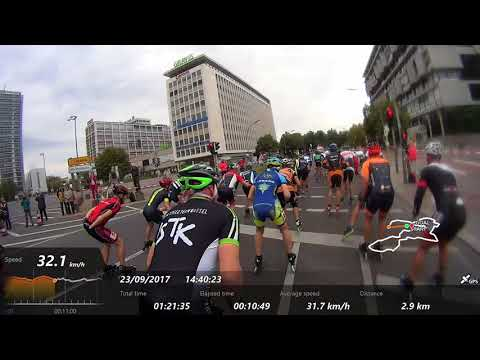 44 Berlin-Marathon inlineskating 2017, group B