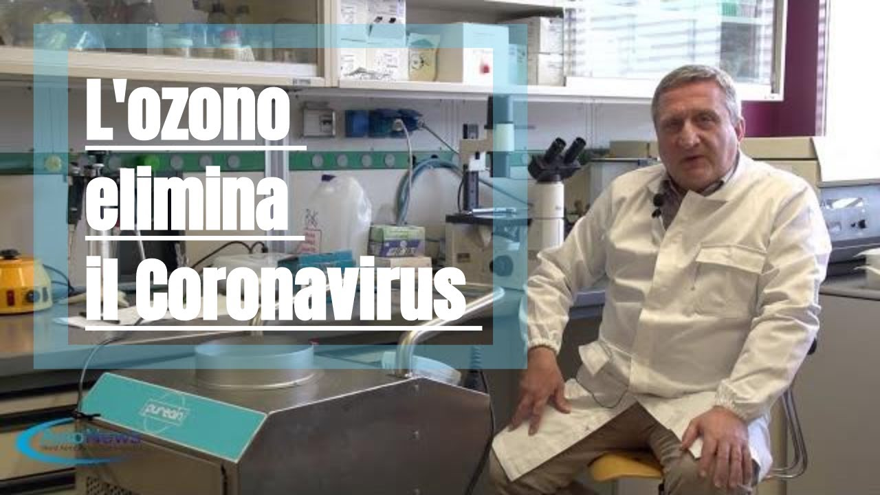 L'ozono elimina il Coronavirus ha un fortissimo potere biocida naturale e biologico.