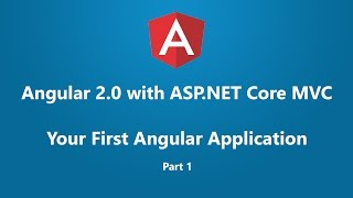 angular 2 with asp net core mvc your first angular application part 1