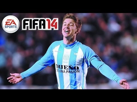 FIFA 14 Best Young Players In Career Mode - Luciano Vietto Review - AMAZING Striker