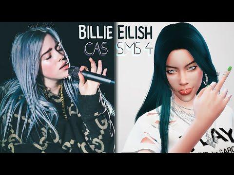 The Sims 4 | CAS | Billie Eilish | Билли Айлиш