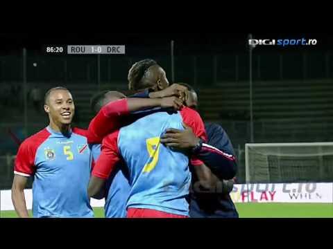 Romania 1-1 RD Congo (Gol Jeremy Bokila)