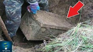 وجدوا صندوق من الحرب العالمية الثانية. وعندما فتحوه كانت الصدمة..!!