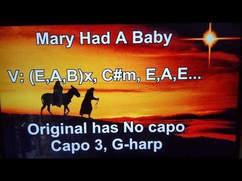 Mary Had A Baby - Lyrics - Chords - AUDIO YES !!! Bruce Cockburn