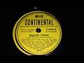Leonard Feather - Esquire Stomp Part 2 - 78 rpm - Continental C6009