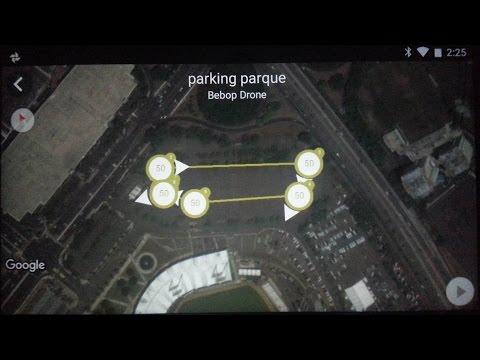 Parrot Bebop Flight Plan autonomous self driving drone 50m February 22 2016 quadcopter PR