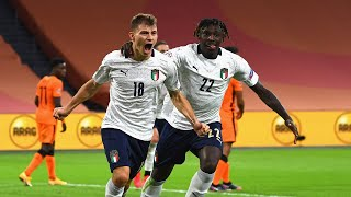 Highlights: Paesi Bassi-Italia 0-1 (7 settembre 2020)