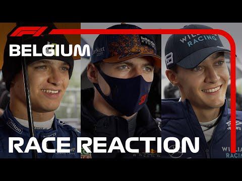 Drivers React To Rain-Shortened Race At Spa   2021 Belgian Grand Prix
