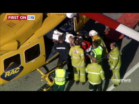 Easter Accident | 9 News Perth