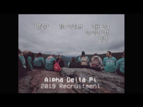 Alpha Delta Pi Recruitment 2019 // West Virginia Wesleyan College