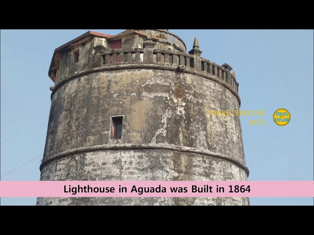 Famous Place in Goa AGUADA FORT Full informatiion