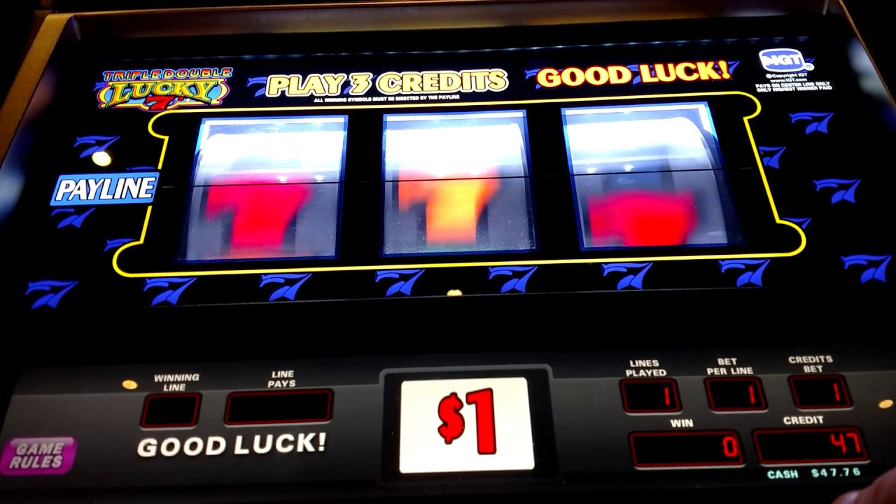 triple double lucky 7s dollar slots hollywood casino. Black Bedroom Furniture Sets. Home Design Ideas