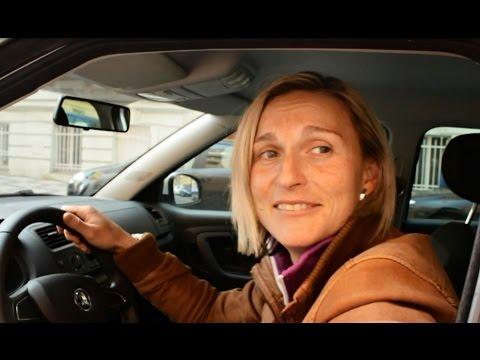 Barbora Špotáková taxikářem :)