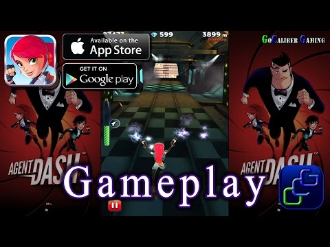 Agent Dash Android OS Gameplay - Agent Dash, Riley