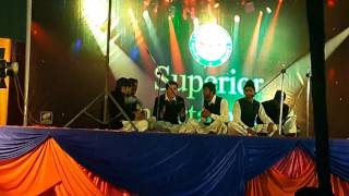 superior collage kharian function