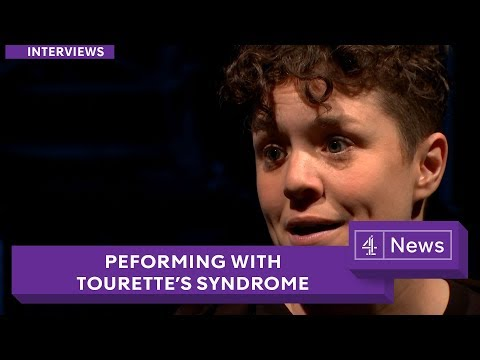 Samuel Beckett's 'Not I' performed by an actor with Tourette's syndrome