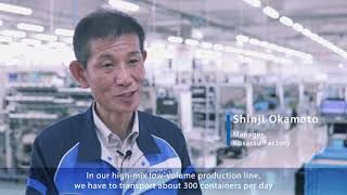 Omron LD mobile robot automated material handling with human-machine collaboration
