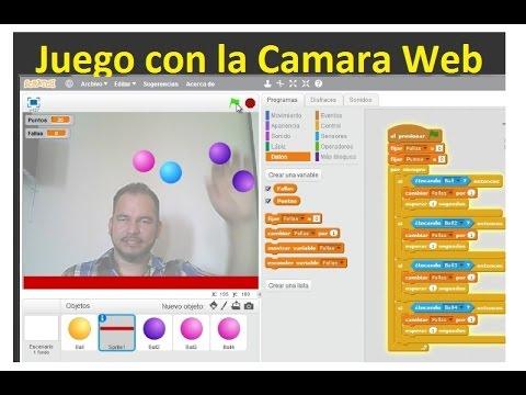 juego camara web: