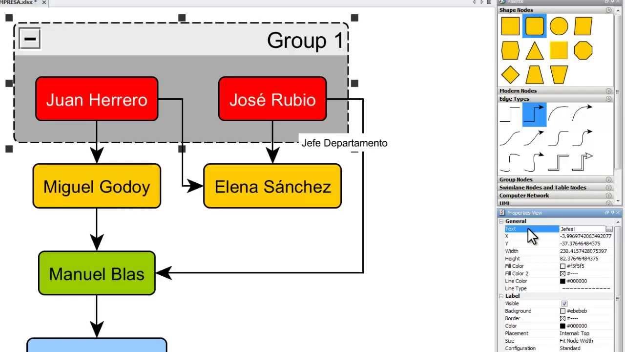 Diagramas de flujo automticos con libreoffice calc y yed automatic diagramas de flujo automticos con libreoffice calc y yed automatic flowcharting youtube ccuart Images