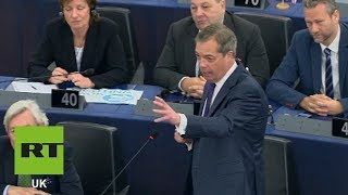 """""""Halloween trick or treaty, make your minds up."""" - Farage"""