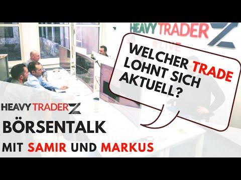 LIVE Gast Markus Gabek: Welcher Trade steht auf der Watchlist?