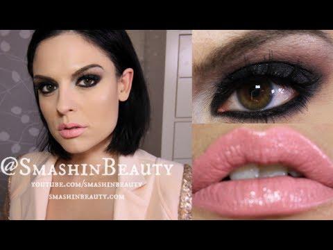Valentines Day Makeup Tutorial Black Smokey Eye Tutorial Youtube