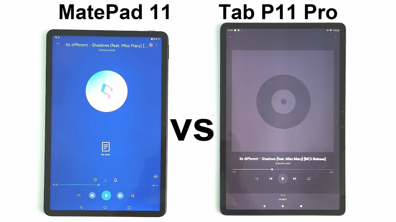 Huawei MatePad 11 vs Lenovo Tab P11 Pro - SPEAKER TEST