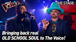 Ben Sekali sings 'A Change Is Gonna Come' by  Sam Cooke | The Voice Stage #4
