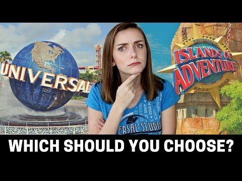Universal Studios vs Islands of Adventure