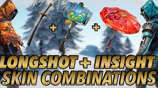 """LONGSHOT + INSIGHT"" SKIN BEST BACKBLING + SKIN COMBOS! (Season 7) (Fortnite) (2018)"