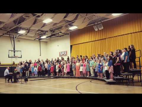 Sedalia middle school 5th grade music program