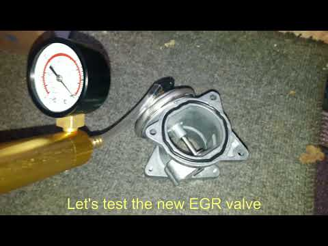 EGR Valve Removal And Test 0401 Insufficient EGR Flow