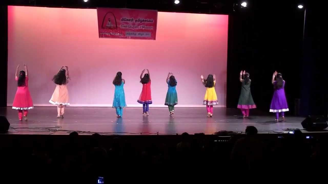 Muthamizh Vizha 2013 - Modern Dance - Tamil Sangam of Missouri - YouTube