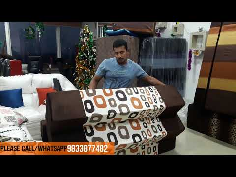 Folding Washable Sofa cum Bed Cover Removable 9999/-