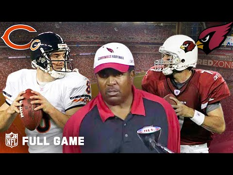 Bears vs. Cardinals - MNF Comeback in 2006 (FULL GAME) | NFL