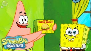 SpongeBob SquarePants | Patrick & SpongeBob Shoot a Frozen Krabby Patty Commercial | Nick