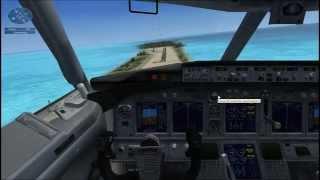 """Microsoft Flight Simulator X миссия - """"Ограниченные возможности""""."""