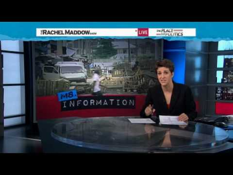Rachel Maddow- Deadly crackdown on Jamaican drug lord