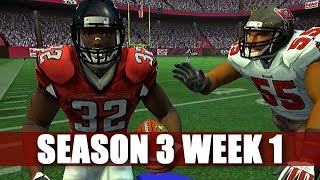 HE MIGHT BE A REAL ONE - MADDEN 2007 FALCONS FRANCHISE VS BUCS S3W1