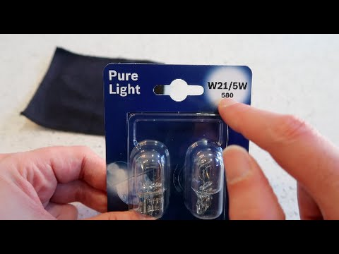 VW UP - How to change the Daytime Running or Side Lights