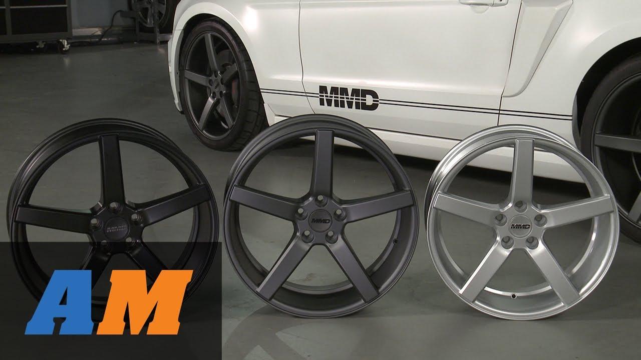 Matte Black Mustang >> Mustang MMD 551C Wheels - Matte Black, Charcoal and Silver ...