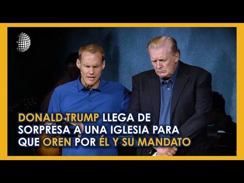 Mira Aquí La Oración Que Realizó Un Pastor En Virginia, Por Donald Trump El Domingo Anterior.