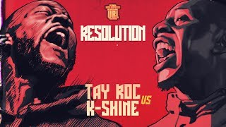 TAY ROC VS K-SHINE | URLTV