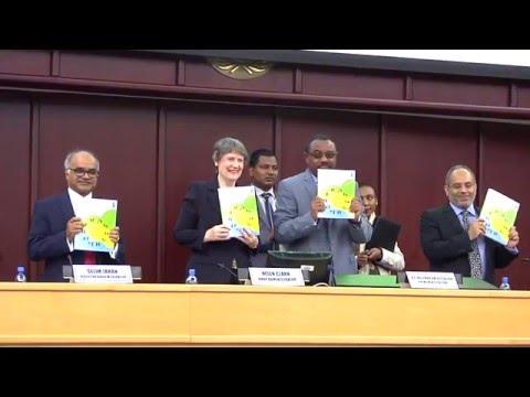 UNDP Launches the 2015 Human Development Report