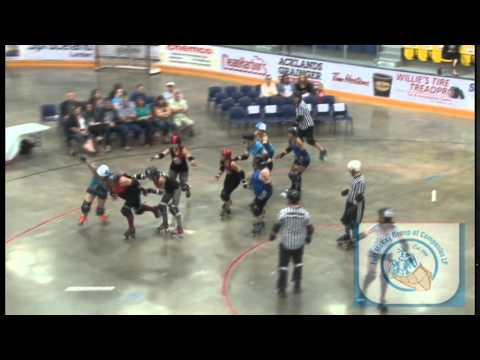 Tar Sand Betties And Red Deer's Nuclear Free Roller Derby In Fort McMurray