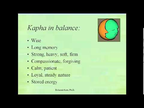 Introduction to Ayurveda by Dr. Deb Kern