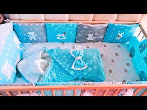 Как сшить комплект постельного белья для вашего малыша
