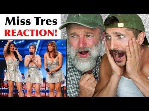Montana Guys React To Miss Tres (Britan's Got Talent 2018)