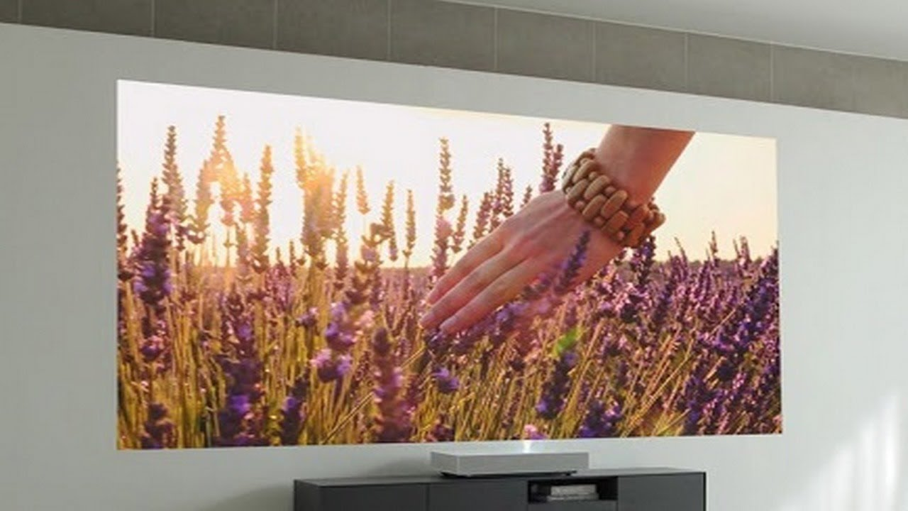 The new LG CineBeam Laser 4K second generation projector works only two  inches away from your wall